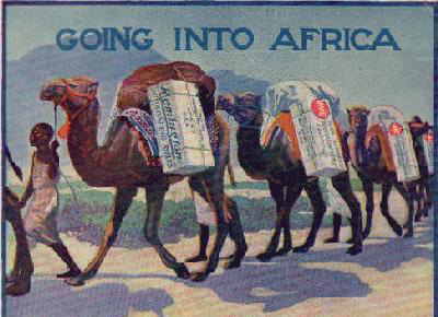 Going into Africa