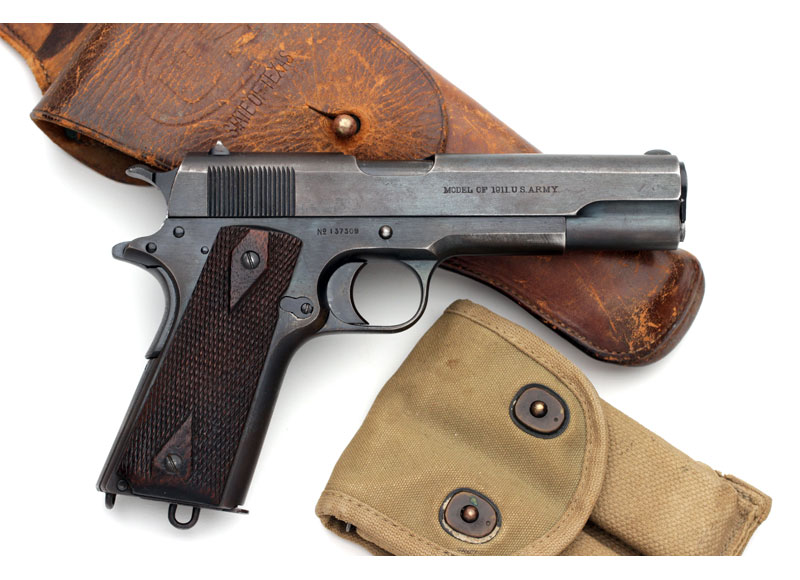 Colt Model of 1911 U.S. Army .45 ACP Shipped to the San Antonio Arsenal in 1916.