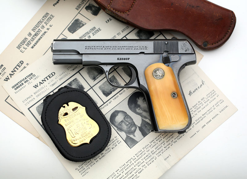Colt Model 1903 .32 ACP Shipped to FBI in 1935